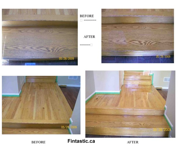 Hardwood Floor Non-sanding Finished