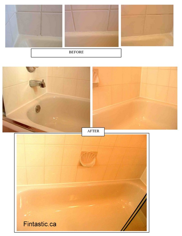 Shower Tub Cleaning, Sealing, Silicone Caulking