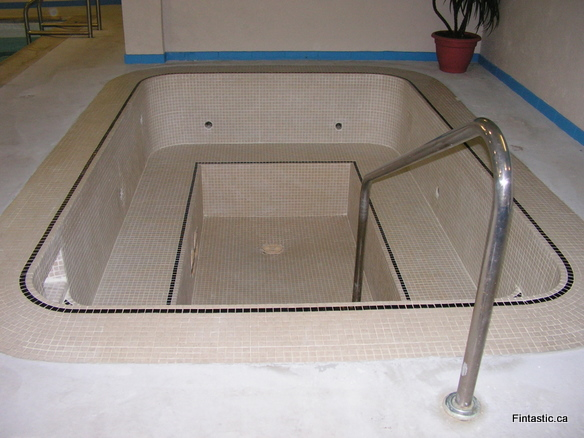 Hot Tub Cleaning, Re-grouting and Sealing
