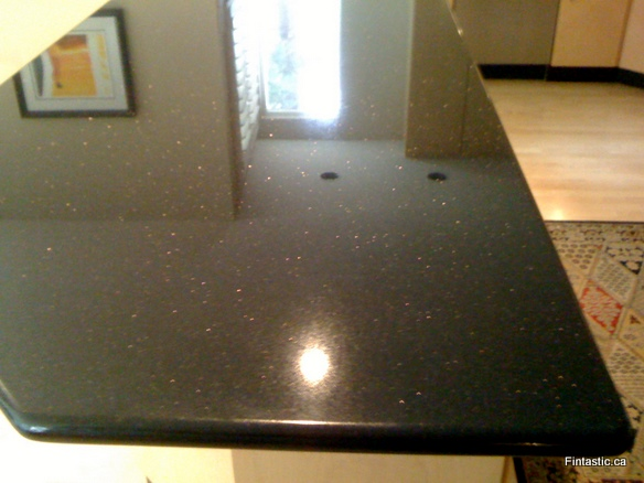 Granite Counter-top stain damage